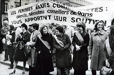 United Nation's International Women's Year in 1975. Photo: AND Zentralbild. Source: ARAB, Ny Dag.