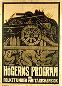 Affisch, SAP 1914