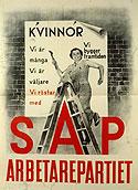 Affisch, SAP 1936