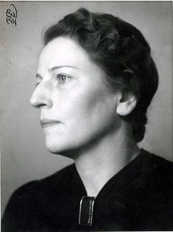 Andrea Andreen (1988-1972), president of Swedish SKV between 1946-1964. Photo: (No information). Source: ARAB, Morgonbris.