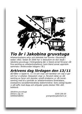 Arkivens dag 2010-affisch