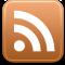 Nytt innehåll på denna webbplats via RSS