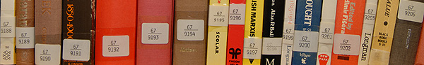 En rad löpnummer ur 67-serien