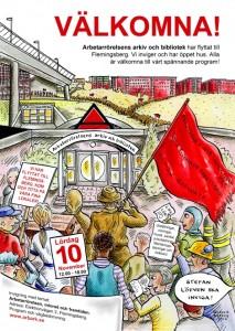 Arbetarrörelsens arkiv och bibliotek öppnar igen
