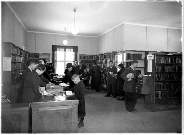 ABF:s och IOGT:s bibliotek i Grängesberg, Lantarbetarens arkiv, ARAB.