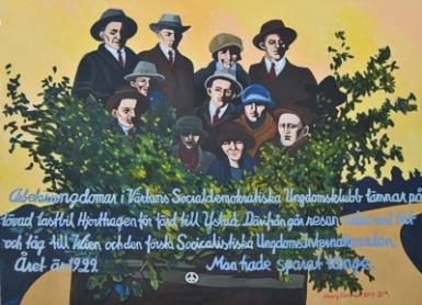 Solveig Norrman, Till Wien 1929