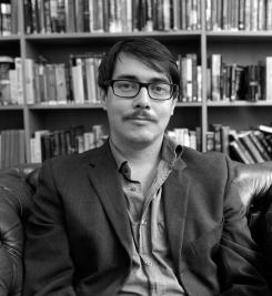 Rasmus Fleischer, Fotograf: Julian Birbrajer (fotografiet är beskuret)