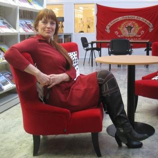 Nina Sjöberg, foto: Ana Durán