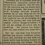 Minnesruna över Evert Lundkvist, Från Stormklockan