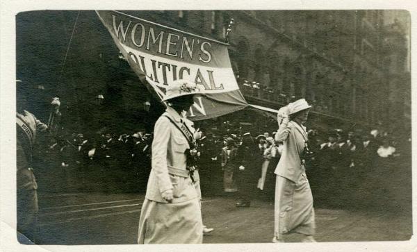 Suffragettmarsch, New York 1913