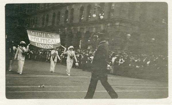 Suffragettmarsh, New York 1913