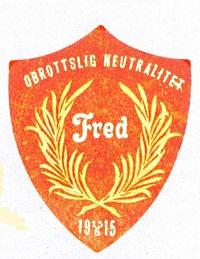 Socialdemokratiska ungdomsförbundets fredsmärke, 1915