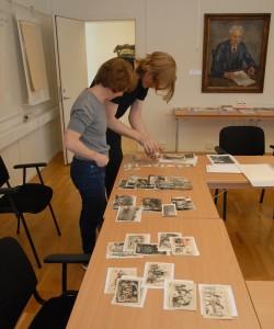 Petra Bauer arbetar med kommande projekt för Göteborgsbiennalen 2015