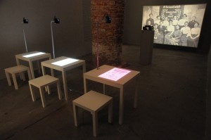 Petra Bauers utställning vid Venedigbiennalen 2015, Foto: Svante Larsson