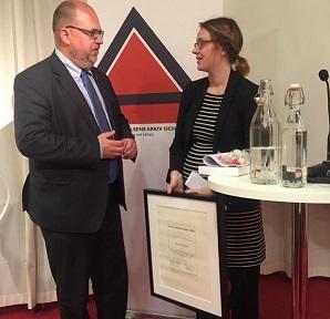 Karl Petter Thorwaldsson och Malin Nilsson