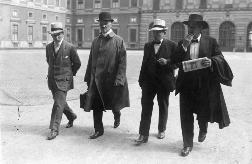 Amaltheakommittén 1917.