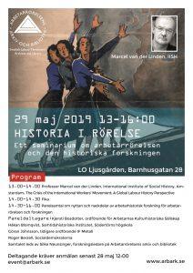 Affisch seminarie Historia i rörelse
