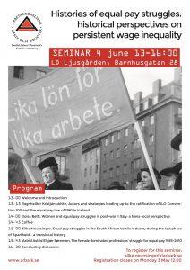 Affisch seminiarum 4 juni