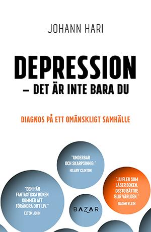 Bokomslag Depression_Det är inte bara du