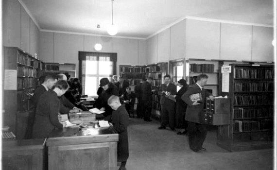 ABF:s och IOGT:s bibliotek i Grängesberg, Lantarbetarens arkiv.