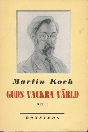 Bokomslag, Guds vackra värld av Martin Koch.