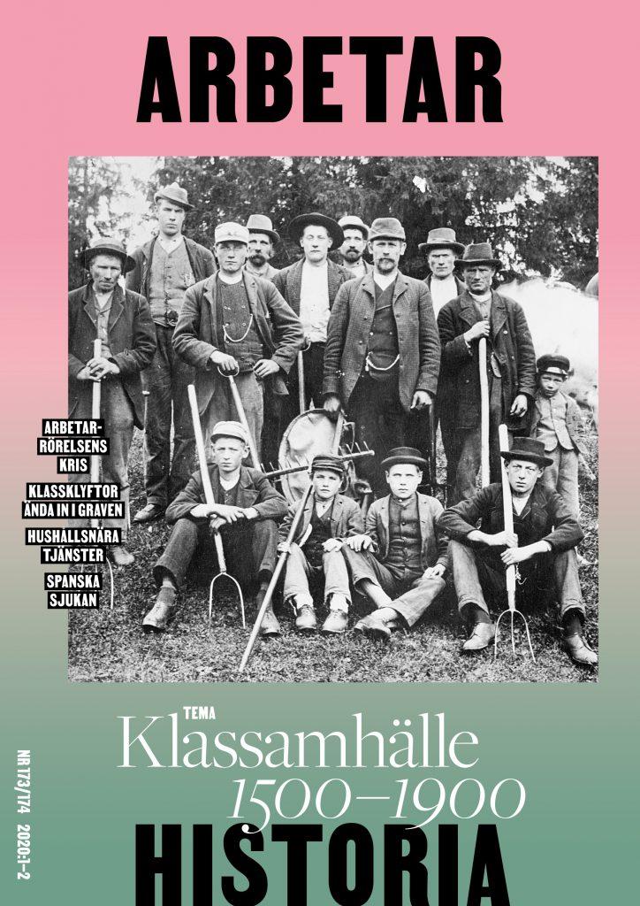 Omslag Arbetarhistoria 173-174