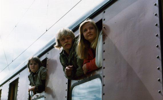 """SSU:s valläger """"Höga kusten"""" 1976."""
