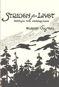 Bokomslag Striden för livet av arbetarförfattaren Albert Viksten.
