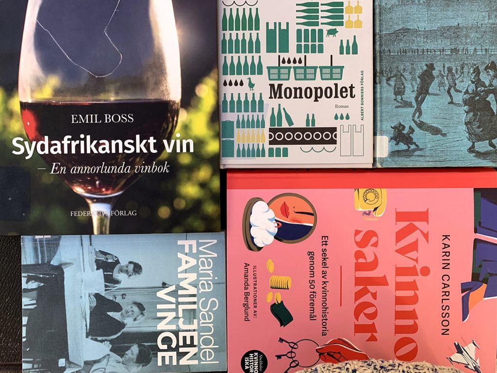 Fem böcker som ARAB har plockat som årets julläsning.