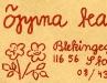 Logotype på Öppna Teaterns kuvert