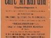 Affisch: Café Arkardia (1900)