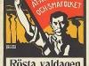 Affisch: Rättvisa åt arbetarne och småfolket (1907)