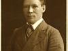 Porträtt av en ung Axel Holmström