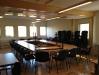 Konferenslokalen efter