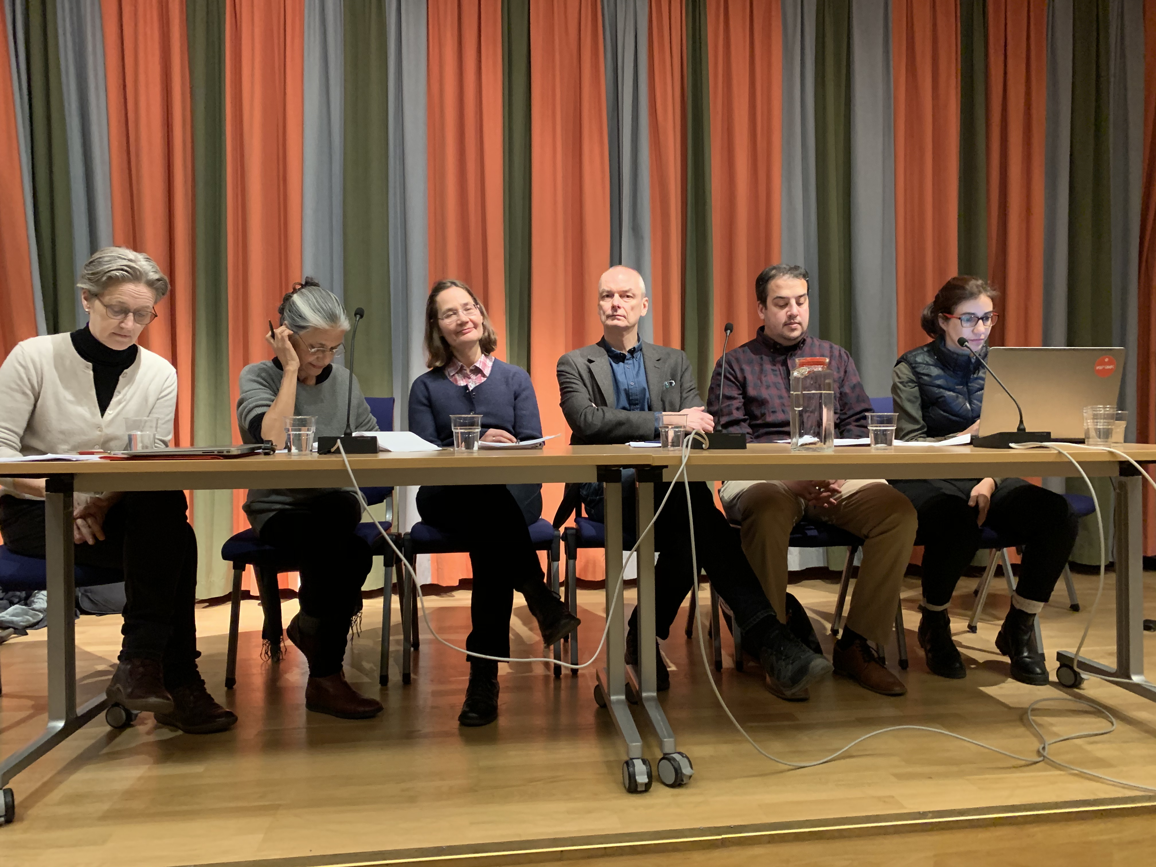 Panel debate about the role of archives