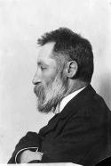 August Palm. Fotograf: Okänd. Fotot finns i Gustav Gerhard Magnussons arkiv, volym 2, löpnummer 173.