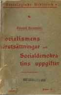 Eduard Bernstein: Socialismens förutsättningar och socialdemokratins uppgifter