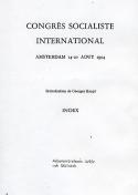 Congrès Socialiste International, Amsterdam 14-20 Aout 1904