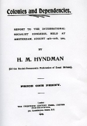 H. M. Hyndman: Report to the International Socialist Congress, held at Amsterdam, August 14th-20th, 1904