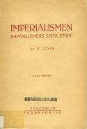 Vladimir Lenin: Imperialismen : kapitalismens sista etapp
