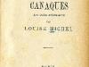 Légendes et chants de gestes Canaques : avec dessins et vocabulaires / par Louise Michel. - Paris, 1885