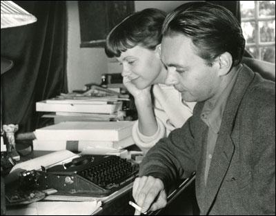 Stig Dagerman med hustrun Anita Björk