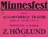 Bild 08. Minnesfest, 1924