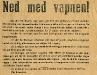 Bild 02. Ned med vapnen!, 1905