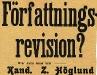Bild 01. Varför kräva socialdemokraterna författningsrevision, 1907